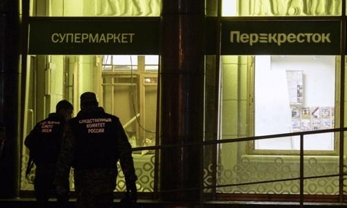 Nga bắt nghi phạm đánh bom khủng bố siêu thị Saint Petersburg