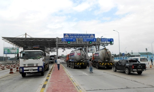 Trạm BOT Nam Bình Định giảm giá vé từ đầu năm 2018