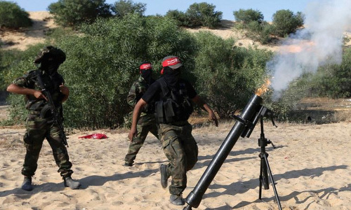 Israel cáo buộc Iran cấp đạn cối cho phiến quân tại Gaza