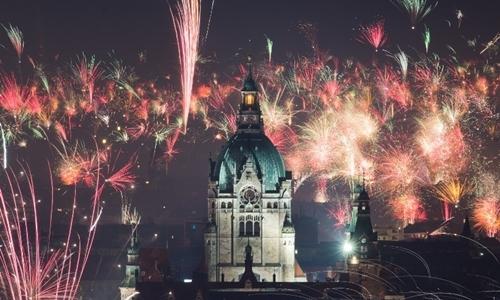 Những màn pháo hoa mãn nhãn chào 2018
