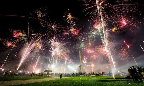 Nổ pháo dịp năm mới ở Đức làm hai người chết