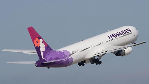 Một chuyến bay của hãngHawaiianAirlines