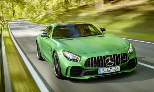 Mercedes-AMG GT R - siêu phẩm đường đua giá 157.000 USD.