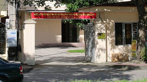 Sở Khoa học và Công nghệ Ninh Bình nơi ông Dũng công tác trước khi bị kỷ luật. Ảnh: Lam Sơn.