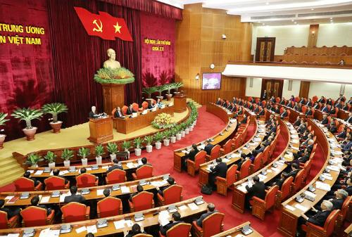 Theo Quy định 105, Bộ Chính trị sẽ quyết định trưởng các ban của Trung ương Đảng, Bộ trưởng, thủ tưởng cơ quan ngang bộ... Ảnh: VGP