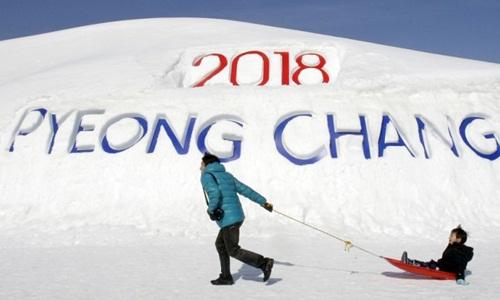 Thế vận hội mùa đông Pyeongchang 2018 diễn ra từ ngày 9 - 25/2/2018 tại tỉnh Gangwon, Hàn Quốc. Ảnh: AP.