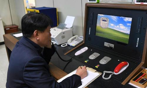 Triều Tiên lần đầu gọi điện cho Hàn Quốc trong hai năm