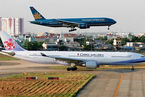 Nhiều đường bay sẽ được mở từ các thành phố lớn của Việt Nam đến Trung Quốc từ nay đếnnăm 2020. Ảnh: Xuân Hoa