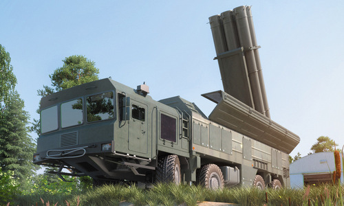 Mô hình tên lửa Klub-T được Novator giới thiệu. Ảnh: Agat Concern.