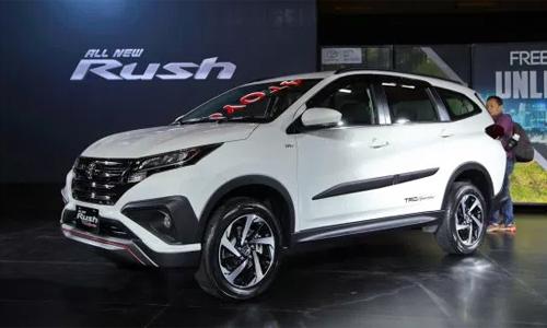Toyota Rush 2018 giá từ 17.800 USD tại Indonesia.