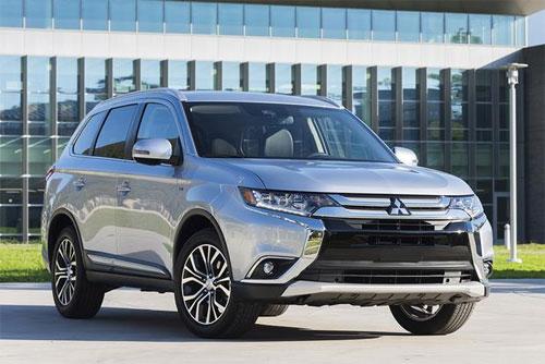 Chiếc SUV của Mitsubishi đã có phiên bản lắp ráp tại Việt Nam.
