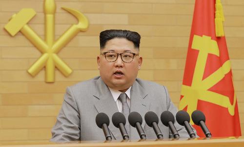 Nhà lãnh đạo Triều Tiên Kim Jong-un. Ảnh: AFP.