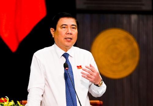 Ông Nguyễn Thành Phong làm tổ trưởng tổ công tác bắt tay thực hiện cơ chế đặc thù. Ảnh: Đức Huy.