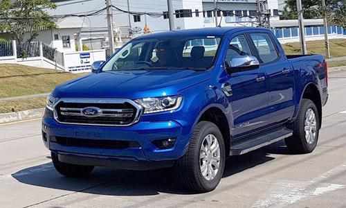Ford Ranger 2018 xuất hiện tại Thái Lan.