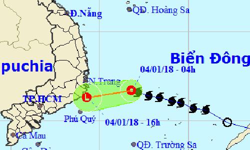 Bão Bolaven suy yếu thành áp thấp nhiệt đới