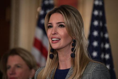 Con gái của ôngDonald Trump, Ivanka Trump, nuôi mộng trở thành nữ tổng thống Mỹ đầu tiên. Ảnh: New York Post.