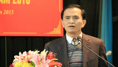 Công bố quyết định kỷ luật phó chủ tịch tỉnh Thanh Hóa