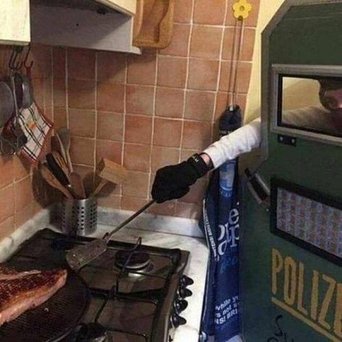 Khi đàn ông vào bếp.