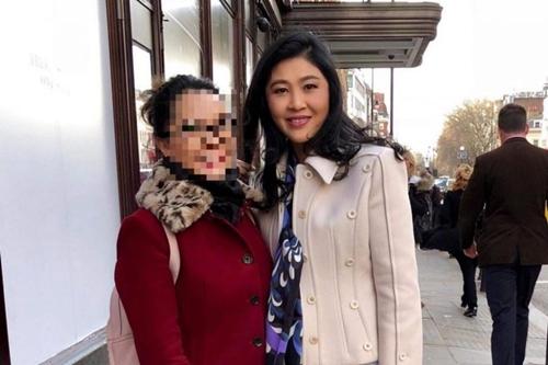 Hình ảnh bà Yingluck Shinawatra xuất hiện trên tài khoản Twitter @zenjournalist.