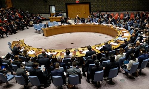 Phiên họp Hội đồng Bảo an về tình hình Iran ngày 5/1. Ảnh: AFP.