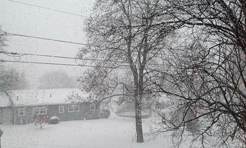 Quang cảnh ởthành phốLowell, bang Massachusetts. Ảnh:Trinh Trần