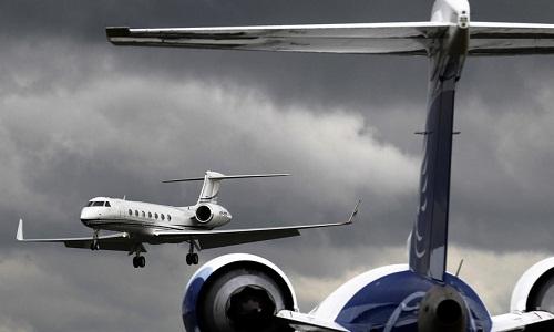 Một máy bay chở kháchGulfstream G150. Ảnh minh họa: RT.