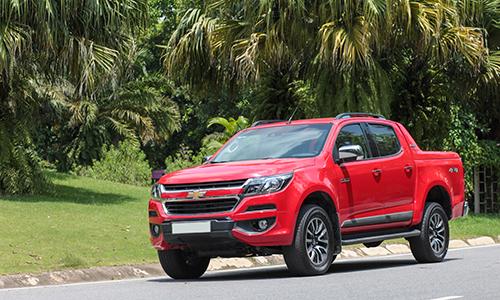 Chevrolet Colorado hay nhiều mẫu bán tải nhập khẩu Thái Lan khác trước nguy cơ tăng giá từ 2018 thay vì ngược lại. Ảnh: Lương Dũng.