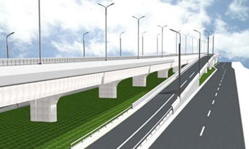 Khởi công đường trên cao đoạn Mai Dịch - Nam Thăng Long