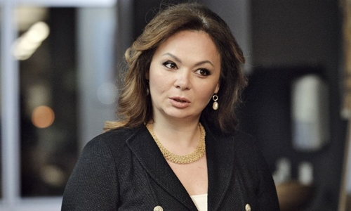 Luật sư Nga Natalia Veselnitskaya. Ảnh: AP