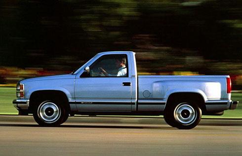 Chevrolet Silverado 1991.