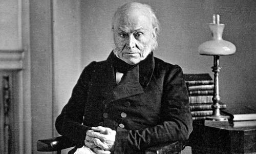 Cố tổng thống Mỹ John Quincy Adams. Ảnh: Wikipedia.