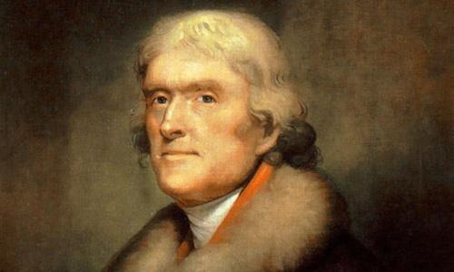 Tổng thống Mỹ Thomas Jefferson. Ảnh: Miller Center.