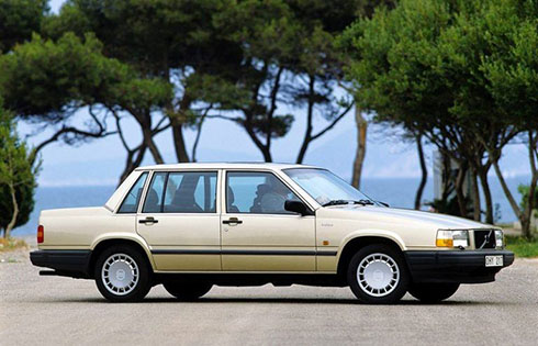 Volvo 740 GLE 1988.