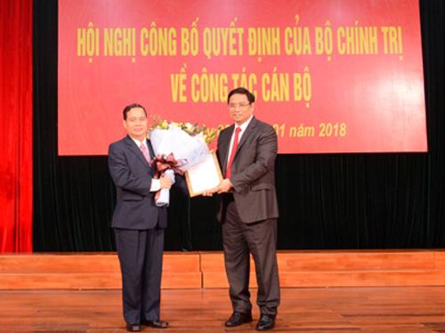 Ông Phạm Minh Chính trao Quyết định phân công nhiệm vụ của Bộ Chính trị cho ôngĐiểu KRé.