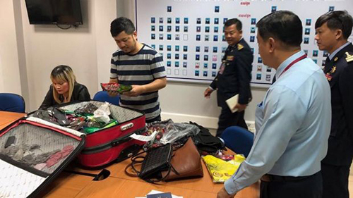 Campuchia bắt phụ nữ gốc Việt vận chuyển 1,8 kg heroin