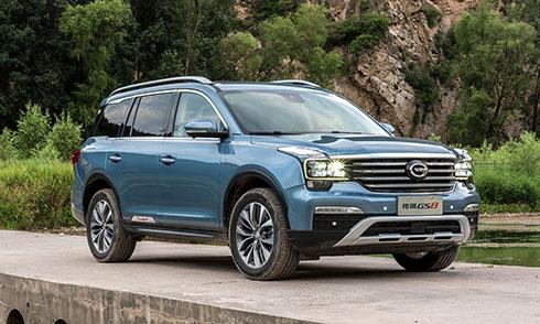 Trumpchi GS8, mẫuSUV Trung Quốcdự kiến tấn công thị trường Mỹ vào cuối 2019. Ảnh: Motorauthority.