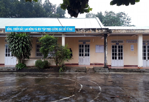 Trung tâm phát triển quỹ đất huyện Hiệp Đức nơi ông Việt công tác. Ảnh:Đ.X.