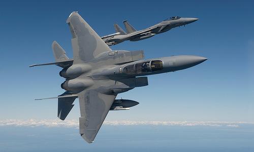Tiêm kích F-15 trong biên chế không quân Mỹ. Ảnh:Boeing.