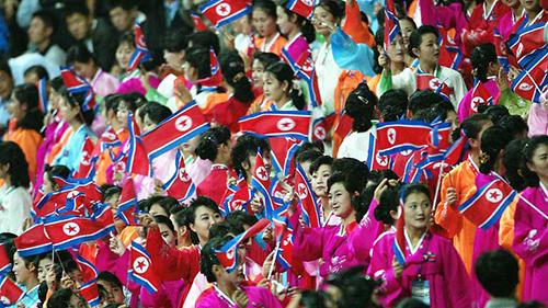 Đội cổ vũ toàn mỹ nữ Triều Tiên mang tới Thế vận hội Mùa đông