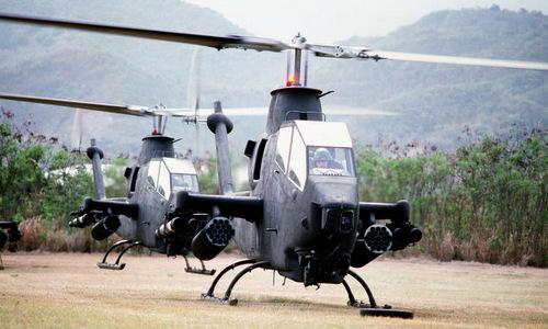 Trực thăng tấn công AH-1 Cobra của lục quân Mỹ. Ảnh:US Army.