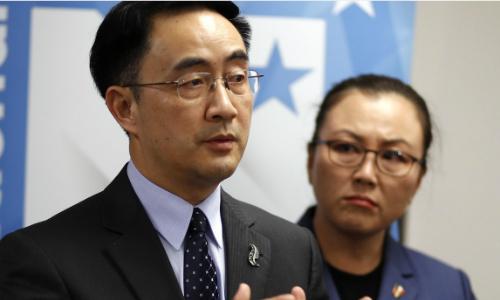 Yang Jian, nhà lập pháp New Zealand bị nghi liên quan đến tình báo quân sự Trung Quốc. Ảnh: AP.