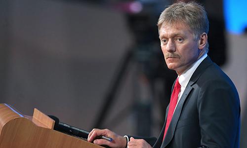 Phát ngôn viên Điện Kremlin Dmitry Peskov. Ảnh:Doni News.