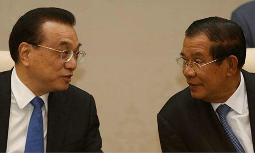 Trung Quốc cam kết đổ hàng tỷ USD vào Campuchia