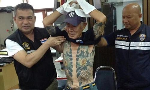 Cảnh sát Thái Lan và Shigeharu Shirai
