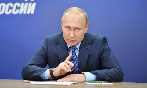 Putin tuyên bố biết chủ mưu các vụ tấn công căn cứ ở Syria