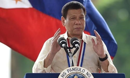 Tổng thống Philippines nêu lý do thích nhai kẹo cao su