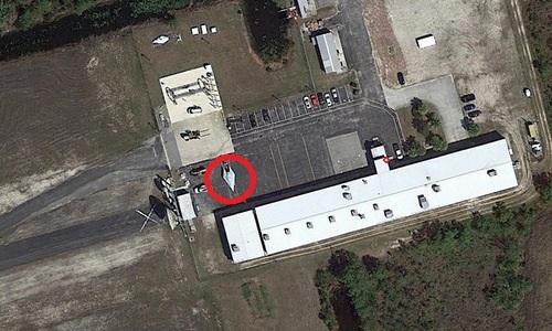 Máy bay tuyệt mật của Mỹ bị nghi lộ diện trên ảnh vệ tinh