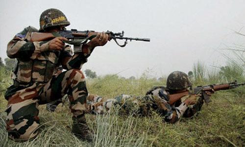 Binh sĩ Ấn Độ và Pakistan đấu súng ở Kashmir