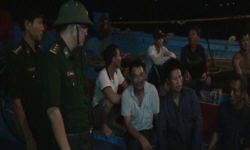 Bốn tàu cá chìm do biển động, 14 ngư dân mất tích