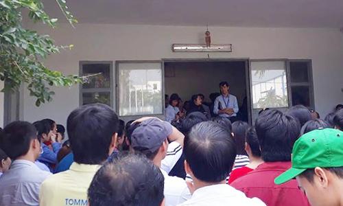 Nghi giám đốc Hàn Quốc bỏ trốn, hơn 600 công nhân canh nhà xưởng
